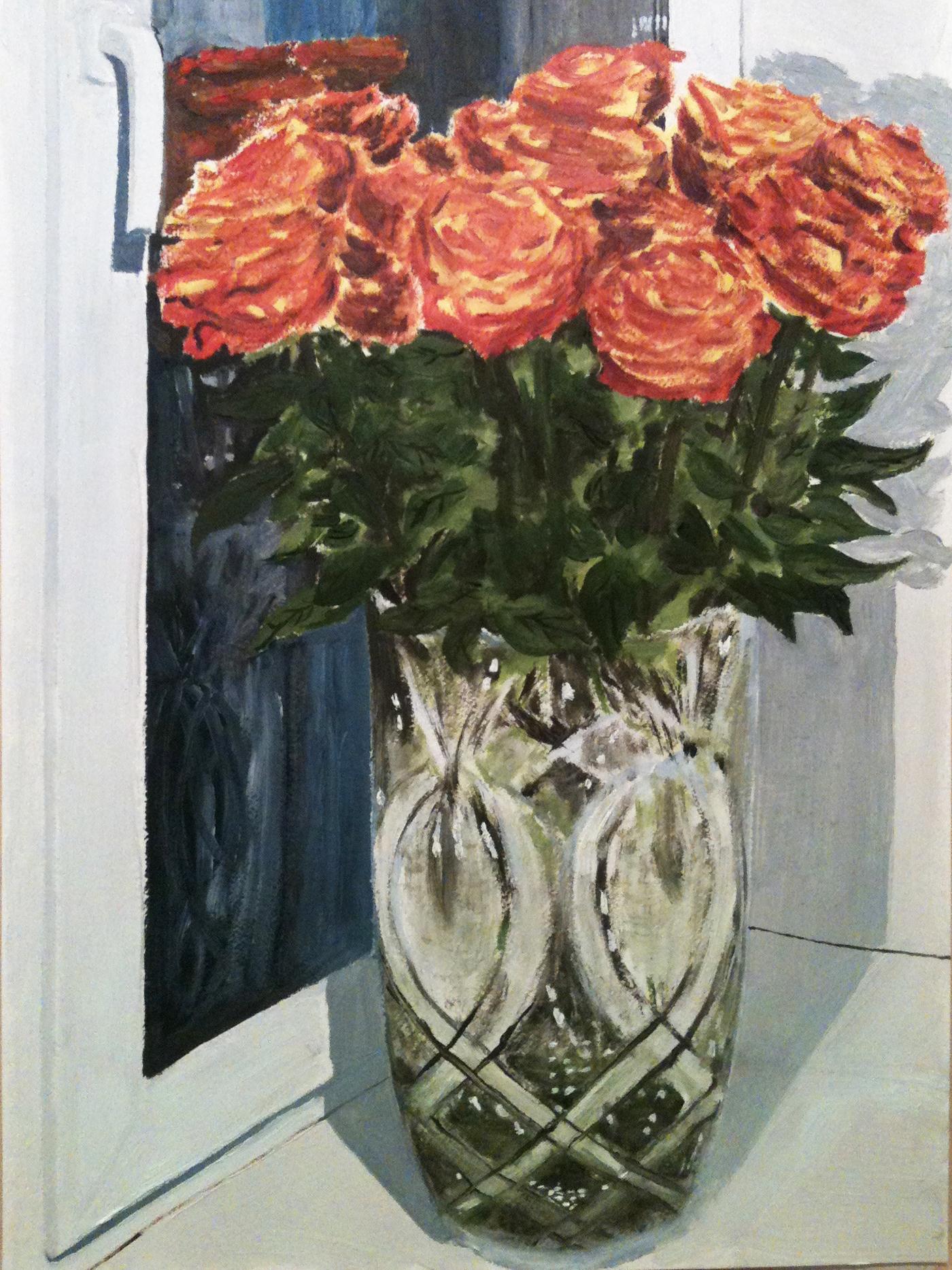 Свадебные цветы - автор Лукинский Николай