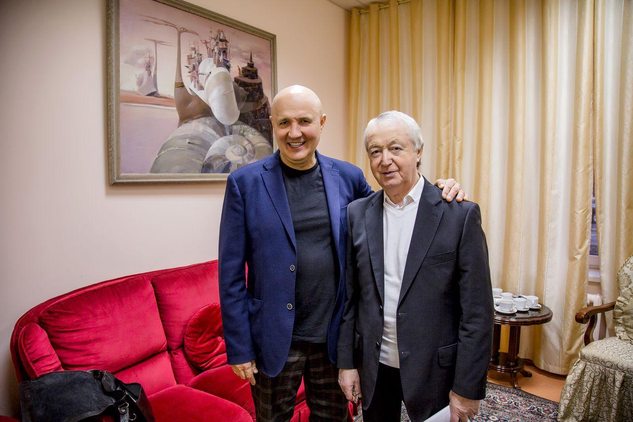 Николай Лукинский и Леон Измайлов